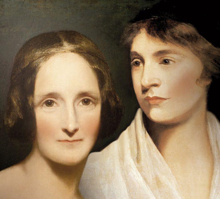 MARY-WOLLSTONECRAFT y MARY SHELLEY