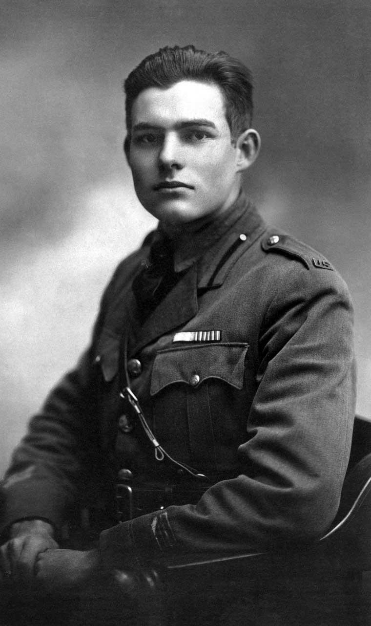 Novelas sobre la primera guerra mundial. Ernest Hemingway.