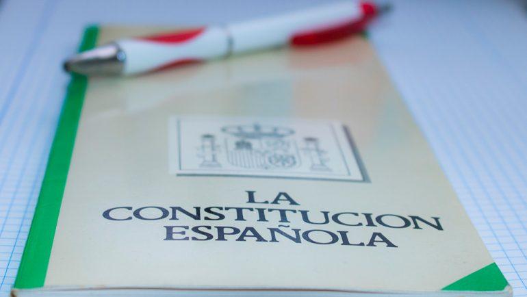 Constitución Española. Cuarenta años.